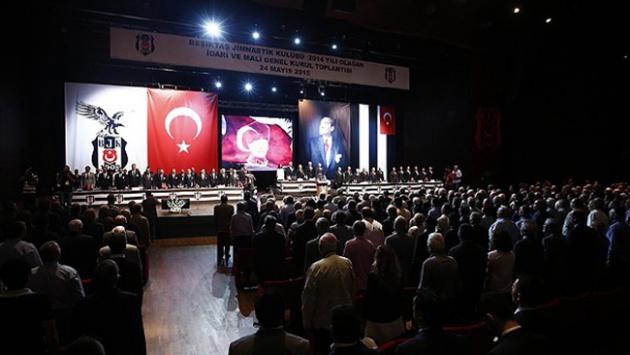 Beşiktaş'ta idari ve mali genel kurul toplantısı başladı