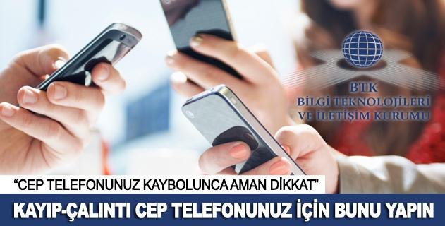 Kayýp-çalýntý cep telefonunuz için bunu yapýn