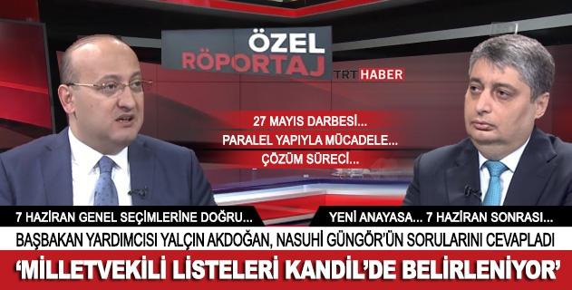 Yalçın Akdoğan: 27 Mayıs gelenek başlattı