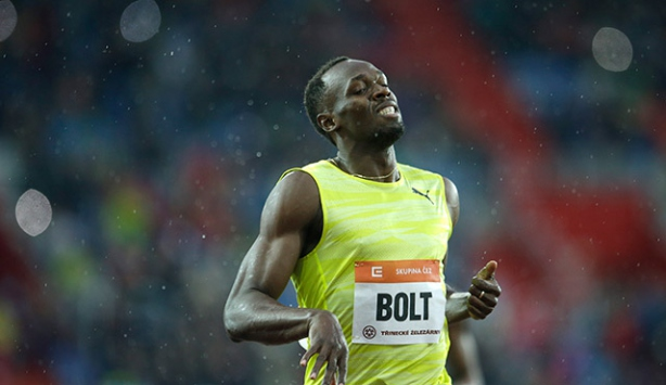 Bolt, Avrupa'da altýnla baþladý