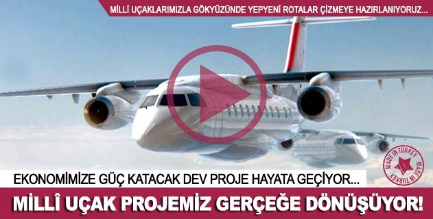 Milli uçak projemiz gerçeğe dönüşüyor!