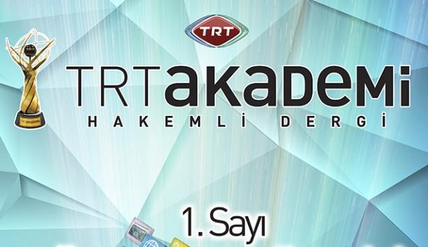 'TRT Akademi' dergisi çıkarılacak