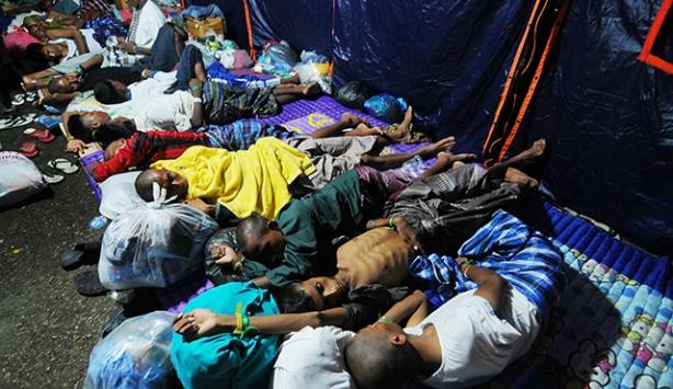 Taylandda göçmen trajedisi ile ilgili toplantı