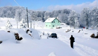 Kırıkkale'de Kar Tatili