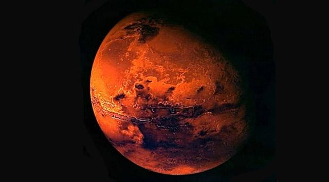 Marsta hayat varmış
