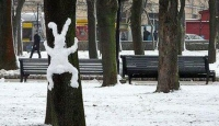 Kardan Adam Değil Kardan Heykeller