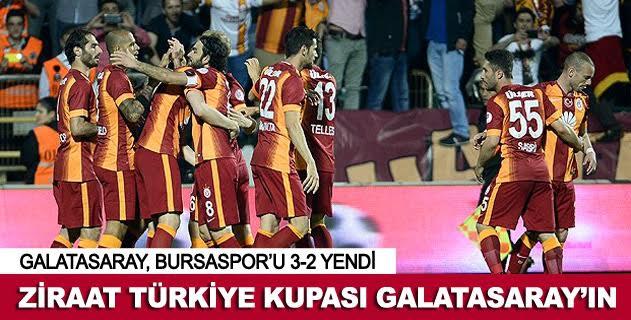 Ziraat Türkiye Kupasý Galatasaray'ýn