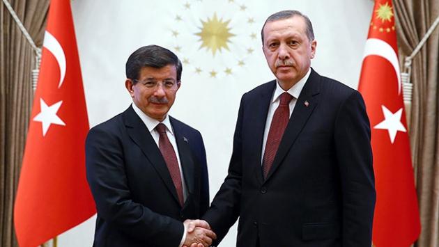 Cumhurbaşkanı Erdoğan, Davutoğlunu kabul edecek