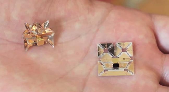 Bilim adamları 1 gramdan hafif robot yaptı