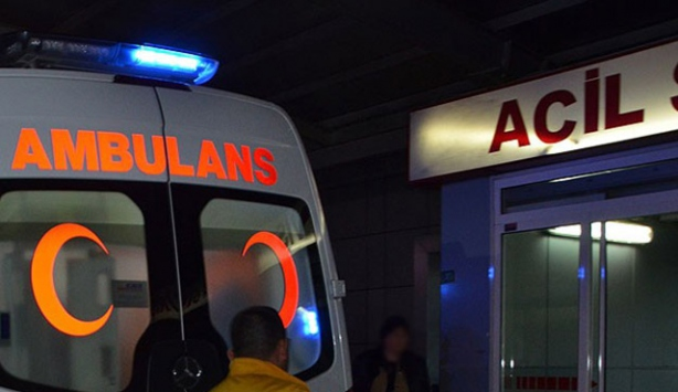 Antalyada trafik kazası: 1 ölü, 1 yaralı