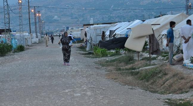 Bir grup Suriyeli ülkelerine dönüyor