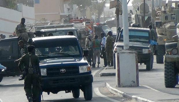 BAE konvoyuna Somalide saldırı