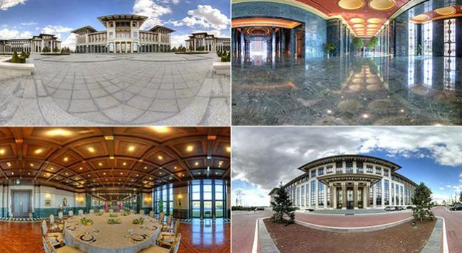 "Cumhurbaşkanlığı Sarayında ""sanal tur"""