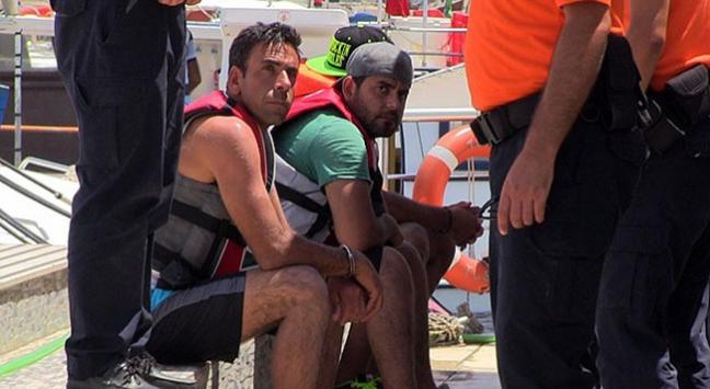 'Jet ski ie göçmen kaçakçılığı' iddiası