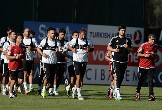 Beşiktaş yeni sezona hazırlanıyor...