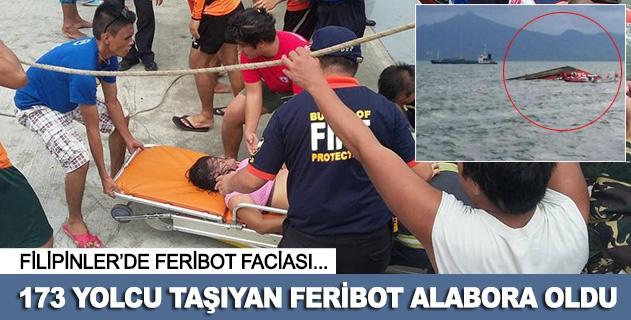 Filipinlerde feribot alabora oldu