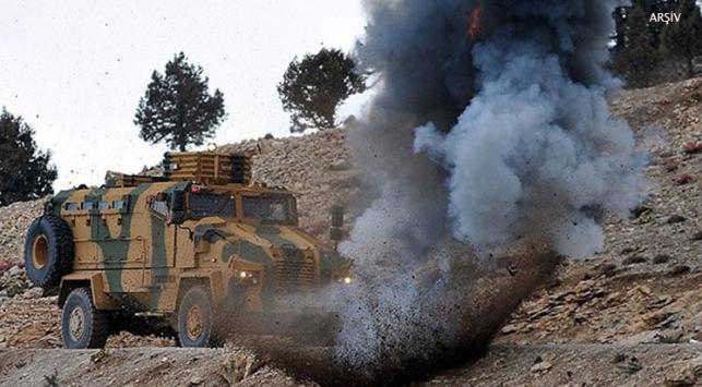 Diyarbakır'da baraj inşaatı yolunda patlama