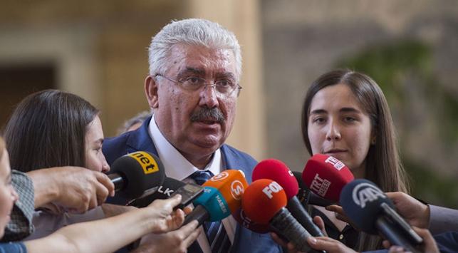 'CHP ve HDP kendi kendilerine gelin güvey oldu'