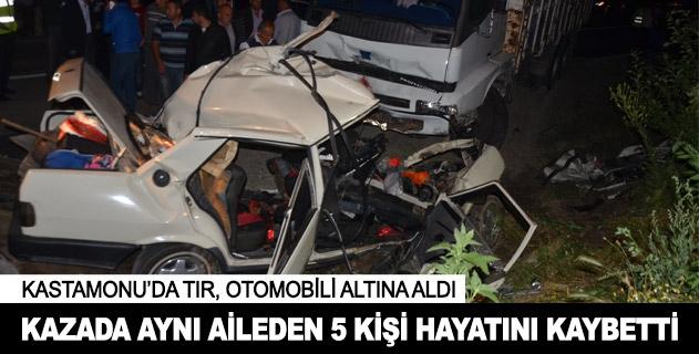 Kastamonuda trafik kazası!