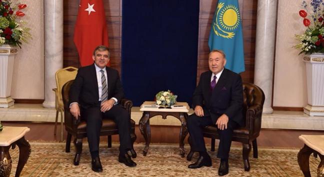 Abdullah Gül Kazakistanda