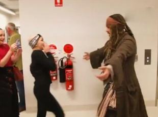 Jack Sparrowun müthiş sürprizi