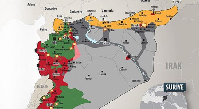 Türkmenlerin yoğun yaşadığı bölge PYDnin hedefinde