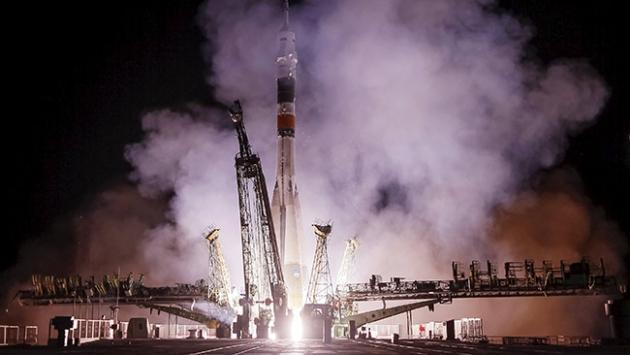 'Soyuz kapsülü' Uluslararası Uzay İstasyonu'na kenetlendi