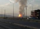 Ağrı'da doğalgaz boru hattına sabotaj düzenlendi