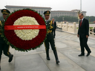 Cumhurbaşkanı Erdoğan Pekin'de