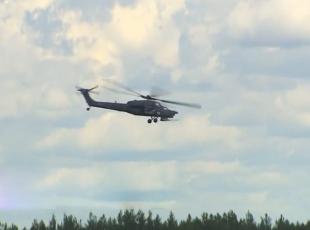 Askeri helikopter böyle düştü!