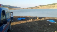 Baraj gölüne giren iki kardeş boğuldu