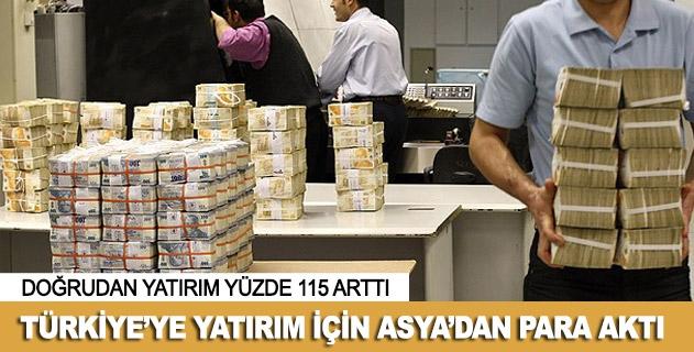 """Türkiyeye yatırım için Asyadan para """"aktı"""""""