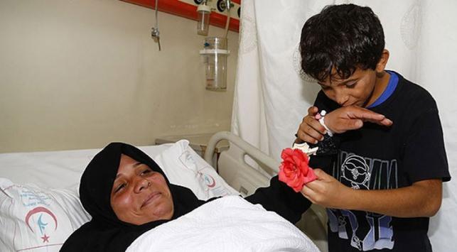 Suriyeli annenin kalbi 'iyileşti'