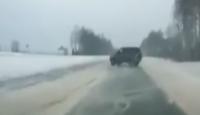 Buzda Aşırı Hız Kaza Nedeni