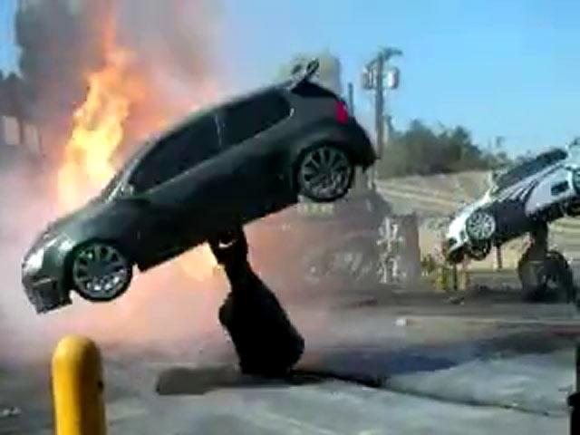 Arabalar da Dans Edebilir !