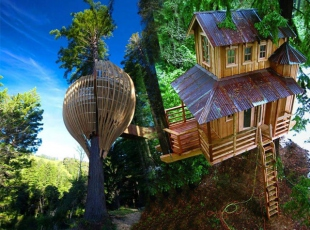 En ilginç ağaç ev tasarımları