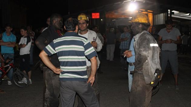 Zonguldak'ta maden işçisi göçük altında kaldı