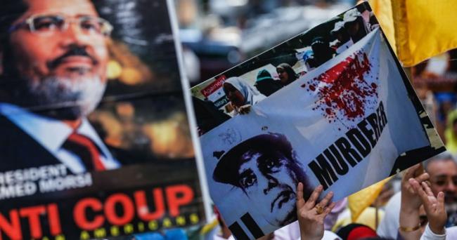 Rabia ve Nahda katliamları New Yorkta protesto edildi