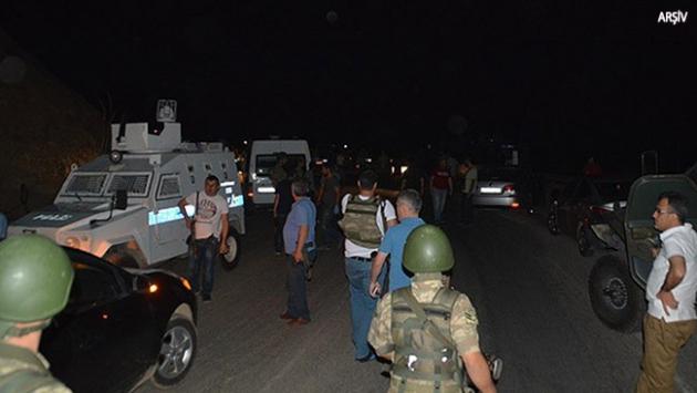 Erzurumda ilçe emniyet müdürlüğüne roketatarlı saldırı