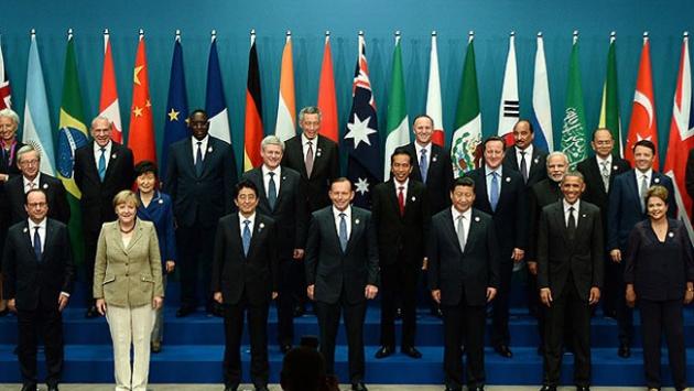 G-20 ülkelerin büyüme tahminleri belli oldu