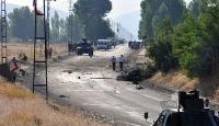 Şırnakta polisevine terör saldırısı: 1 şehit