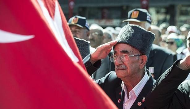 Gaziler Günü dolayısıyla yurt genelinde terönler düzenlendi