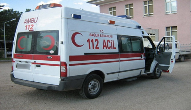 Kayserideki kazada 16 kişi yaralandı