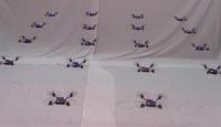 El Kadar Uçan Robotlar Gösteri Yaptı