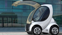 Katlanabilir Elektrikli Otomobil Yollarda