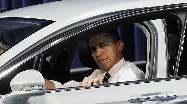 Obamanın Arabasına Alıcı Çıkmadı