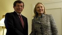 Davutoğlu Münih'te Clinton İle Görüştü