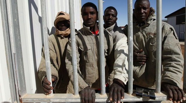 Libyada insanlık dramı yaşanıyor