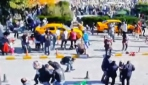 Ankaradaki patlama - Güvenlik kamerası