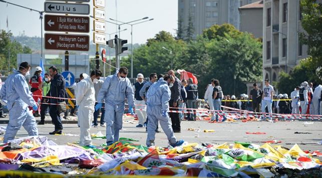 Ankaradaki terör saldırısında ölü sayısı 97ye yükseldi